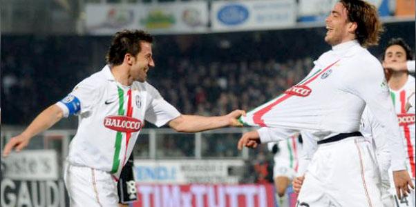 Del Piero e Matri. Due che sanno giocare al pallone.