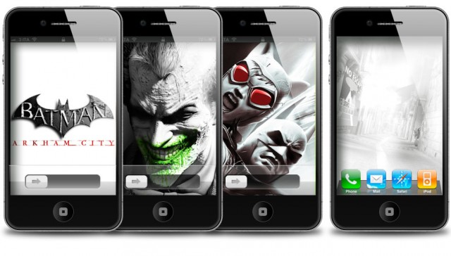 Batman Arkham City Wallpaper e Home Screen iPhone 4S