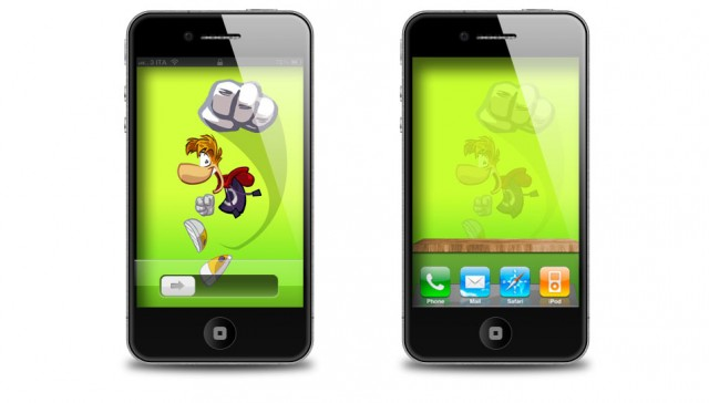 Rayman Origins iPhone 4S Wallpaper e Home Screen
