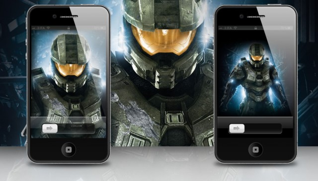Halo 4 iPhone 4S wallpaper