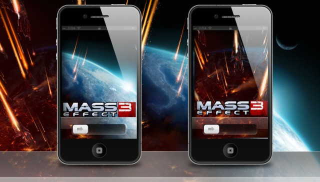 Mass Effect 3 - iPhone 4S Wallpaper Release 01