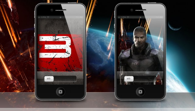 Mass Effect 3 iPhone 4S Wallpaper Release 02