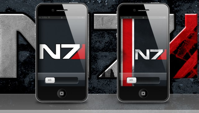 Mass Effect 3 iPhone 4S Wallpaper Release 03