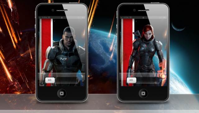 Mass Effect 3 iPhone 4S Wallpaper Release 04