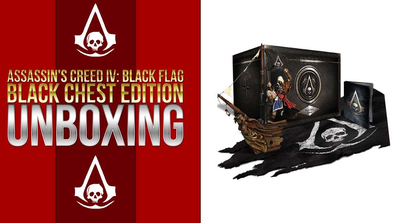 Assassin's Creed IV: Black Flag – Black Chest Edition Unboxing